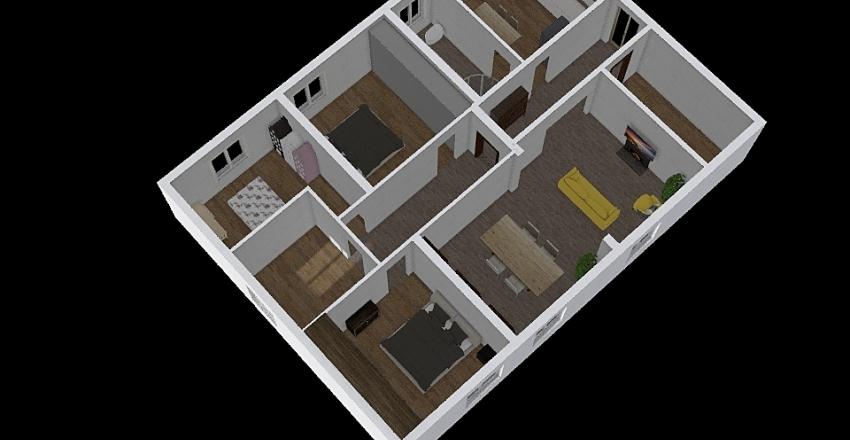 Primo p. ipotesi 3 Interior Design Render