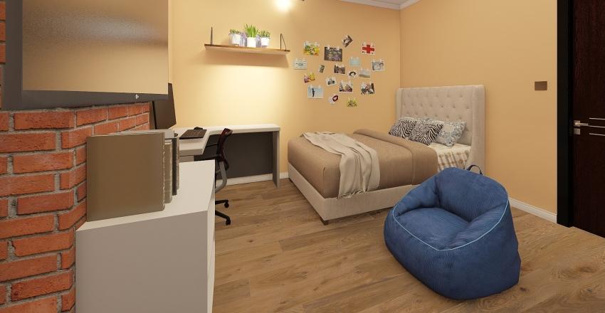 Asdhoo 3BR Apartment Interior Design Render