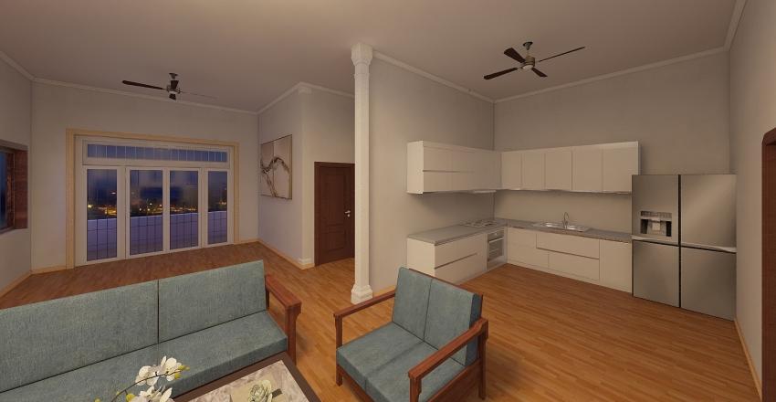nhà chú tâm  Interior Design Render