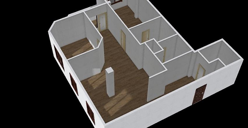 H+T Interior Design Render