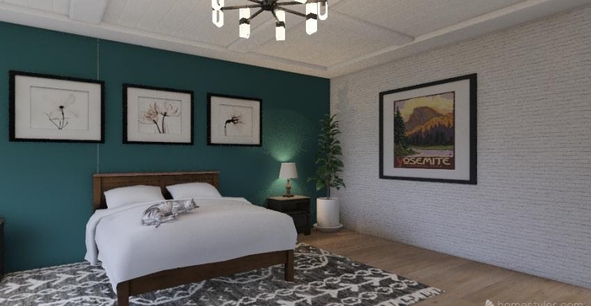 DANI TITUS DREAM BEDROOM Interior Design Render