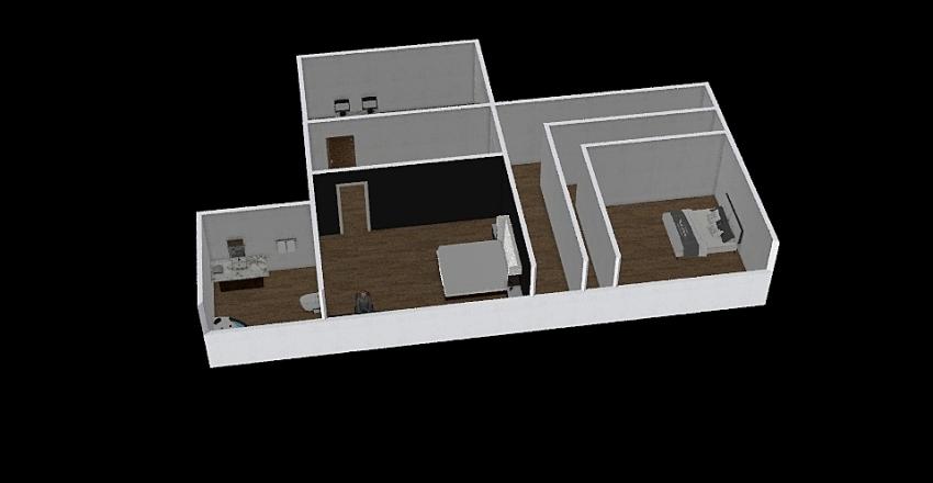 The City Interior Design Render