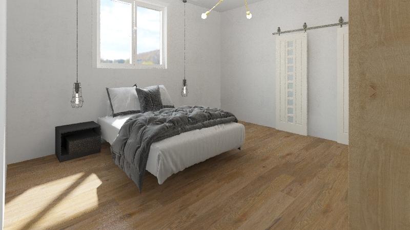 mike's bedroom version 2 Interior Design Render