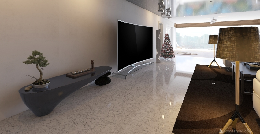 Cote D'Blanc Interior Design Render