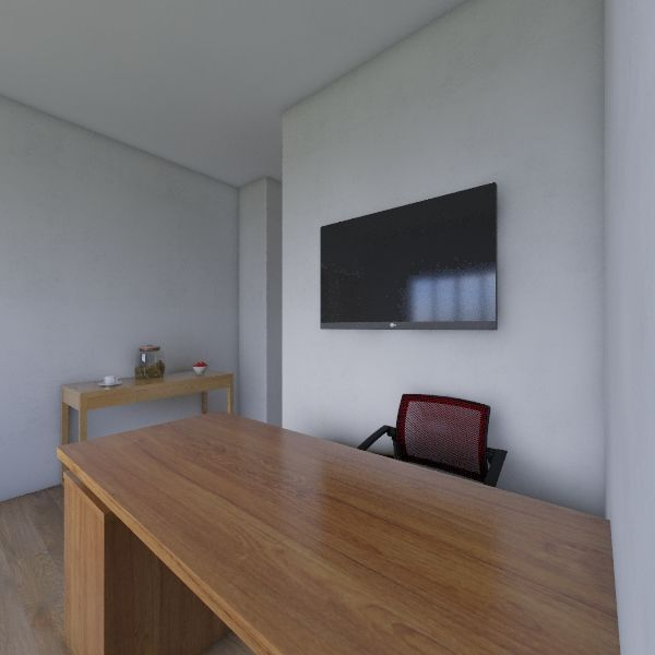 Escritório Interior Design Render