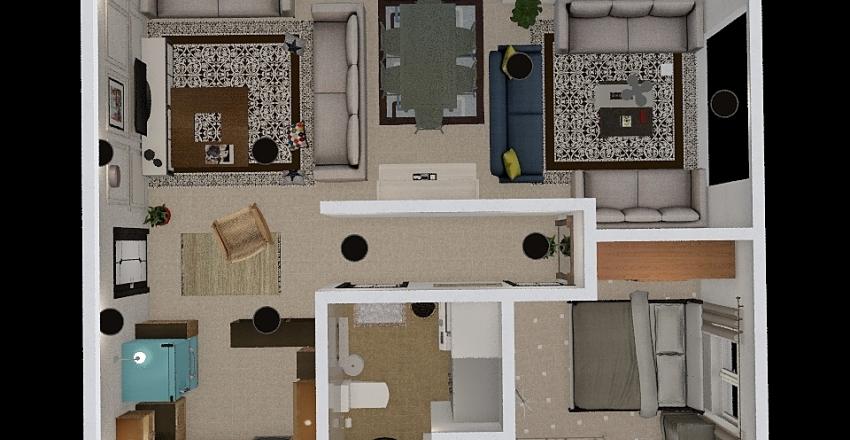 Small home 2 Interior Design Render