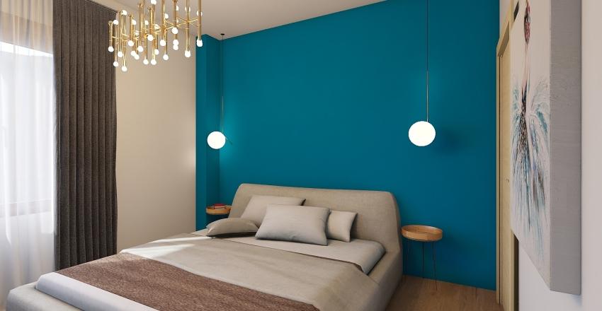 Apartament Constanta Interior Design Render
