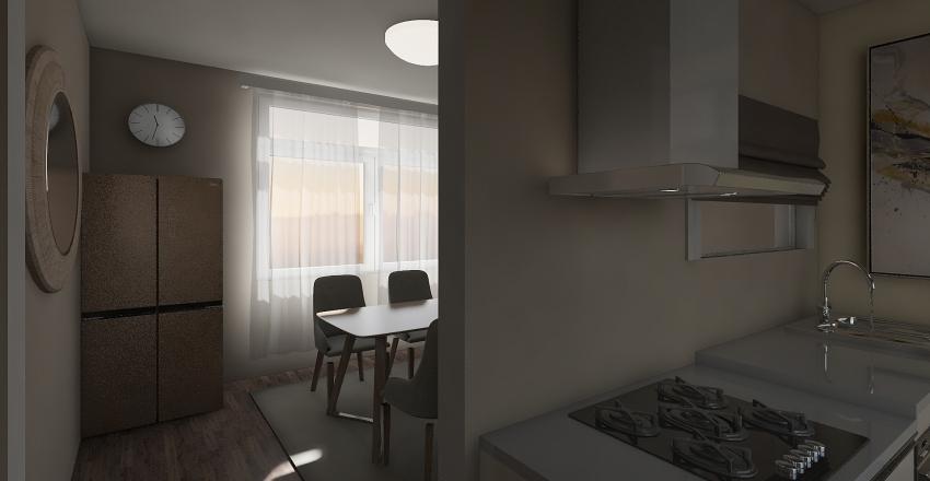 A simple house  Interior Design Render