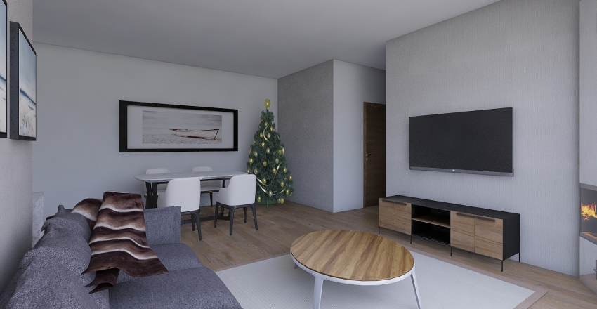 Terraza 146 Interior Design Render
