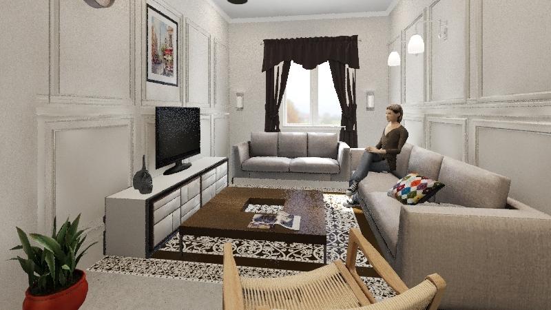 Small home 1 Interior Design Render