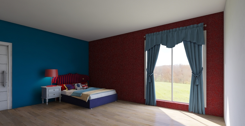 nicely sized house Interior Design Render