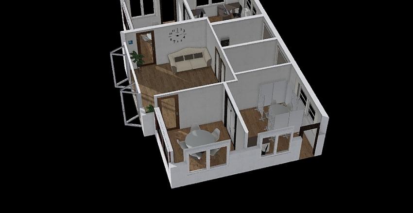 staff training  Interior Design Render