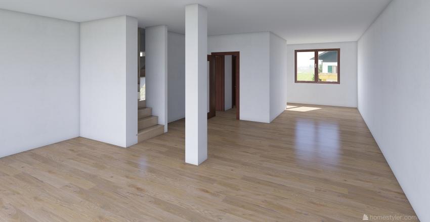 Dum uprava Interior Design Render