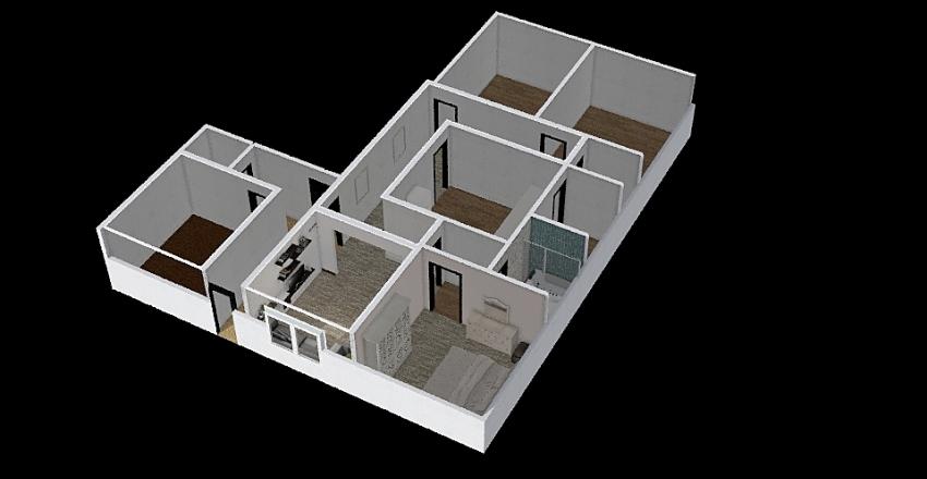 المنزل Interior Design Render