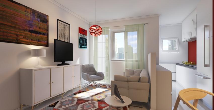 CASA PETTY & ALE Interior Design Render