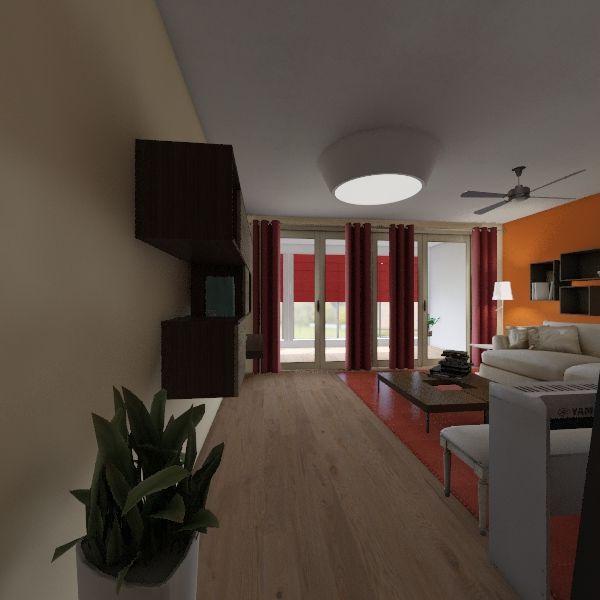 Studio Apartment 2 Interior Design Render