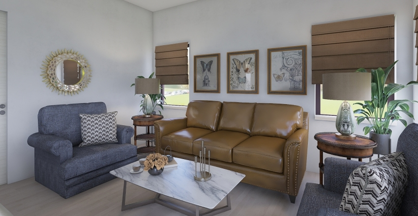 The Gainsville Interior Design Render