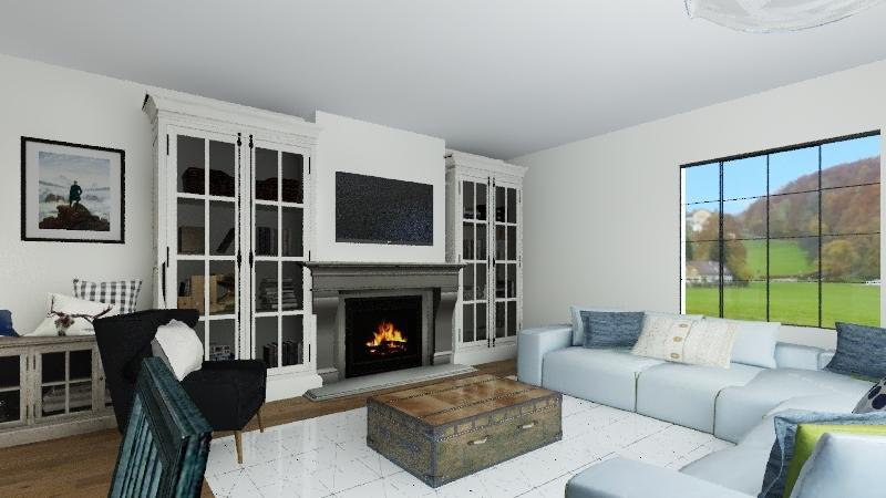 Instagram Interior Design Render