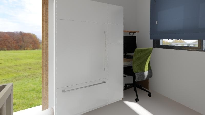 Quartinho Laura/Ravi Interior Design Render
