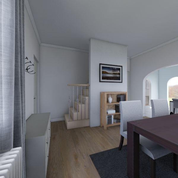 Adding Half Bath Interior Design Render
