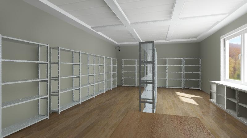 Stores Interior Design Render
