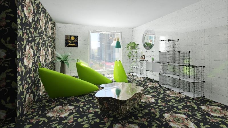 dnevni boravak Interior Design Render