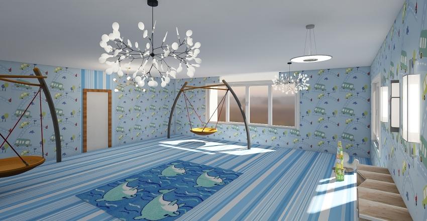 Ronald Mc Donald House Interior Design Render