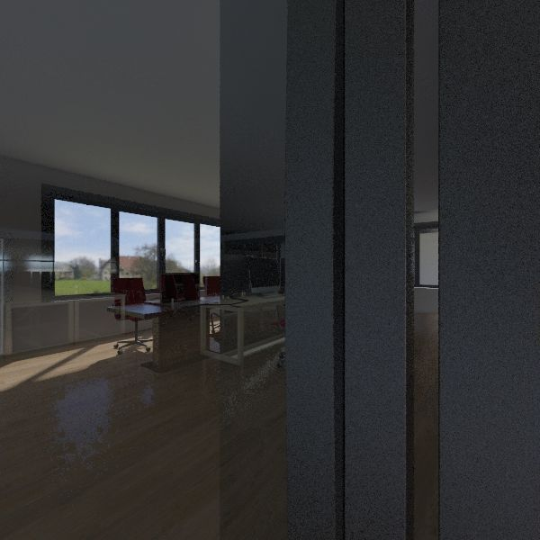 nuovo ufficio lad Interior Design Render