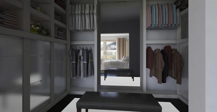 habitación moderna  Interior Design Render