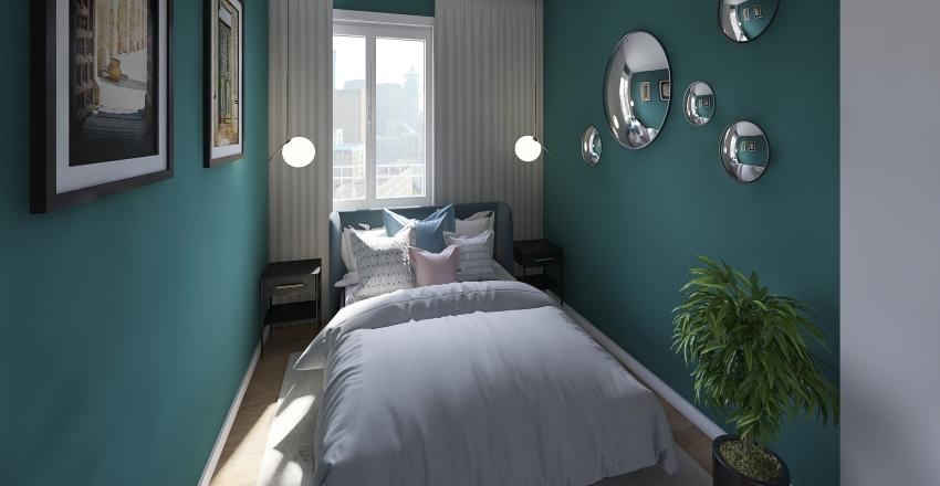 apartment for short term rent Interior Design Render