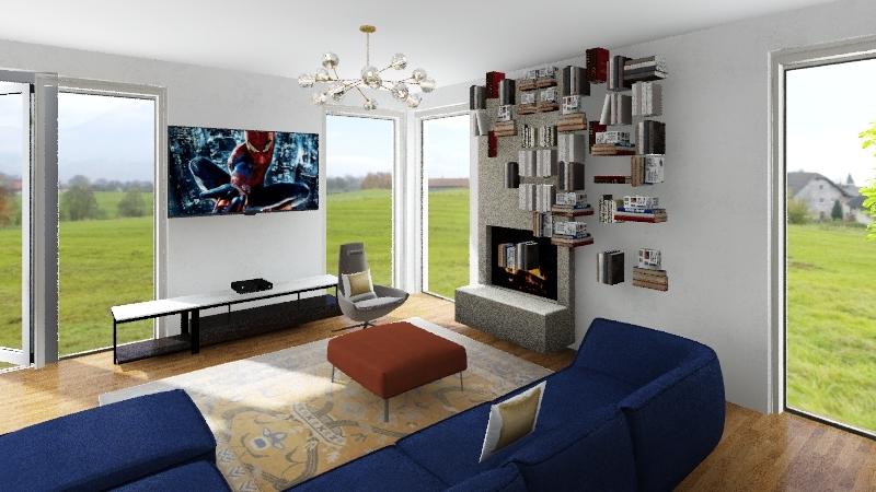 hiša 2019 Interior Design Render