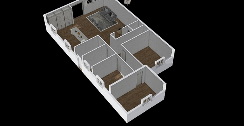 לוגסי Interior Design Render