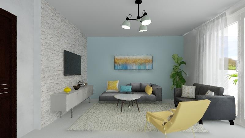 בית בנתיבות Interior Design Render