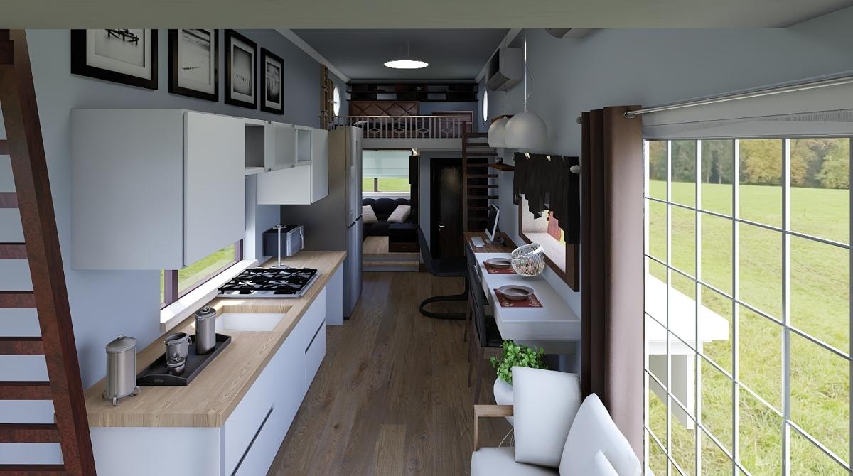 Tiny house interior decoration rendering ben design homestyler for Homestyler italiano