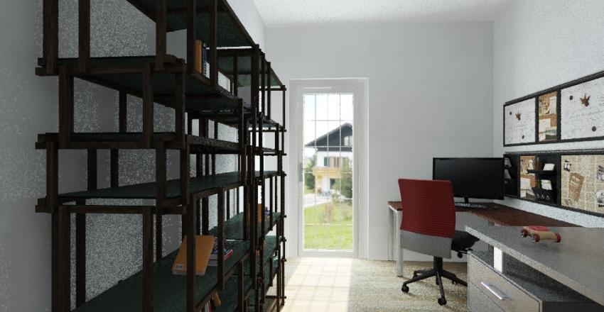 Fede Studio Interior Design Render