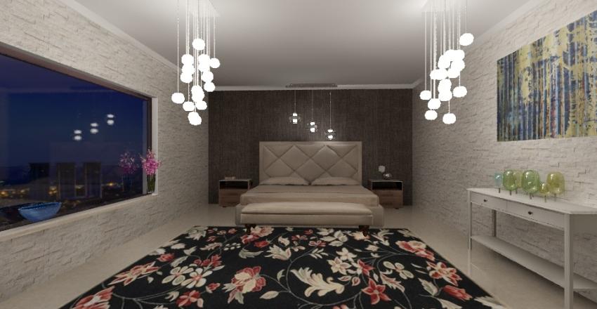 Bedroom Interior Design Render