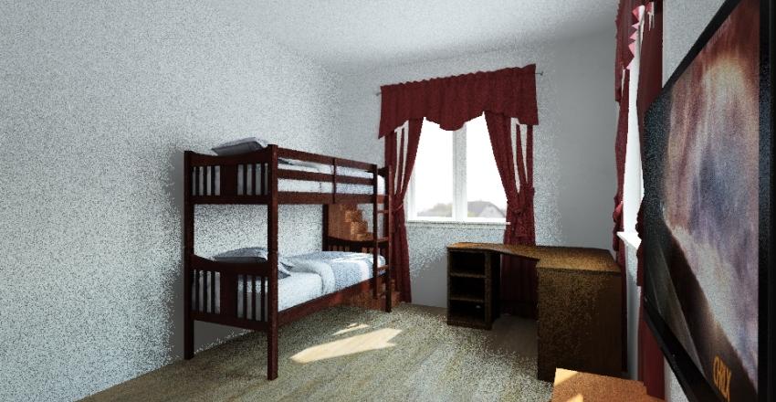Комната пацанов 2 вариант Interior Design Render