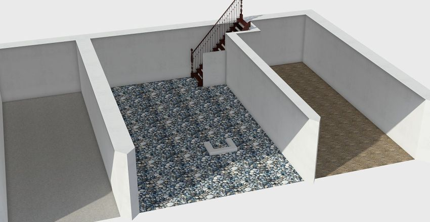 Kamenak 7,5x7m C1 Interior Design Render
