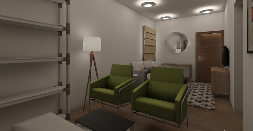 VANDERLAINE Interior Design Render