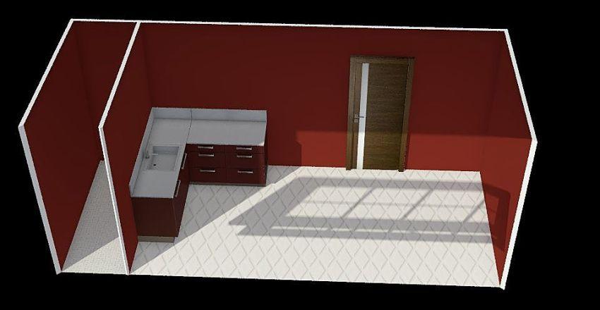 KITCHEN UNIT Interior Design Render