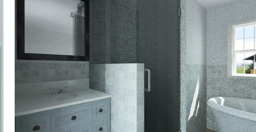 Chris Upstairs Bath Interior Design Render
