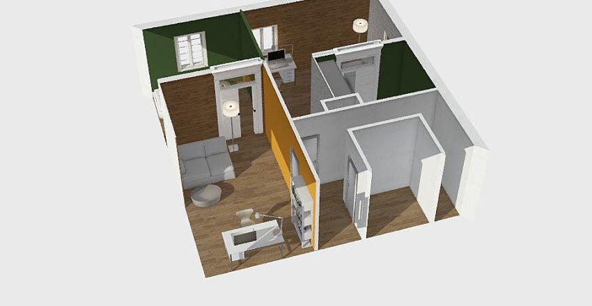 Dachgeschoß Umbau - Projekt T Interior Design Render