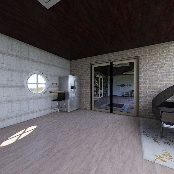 test bandar gym Interior Design Render
