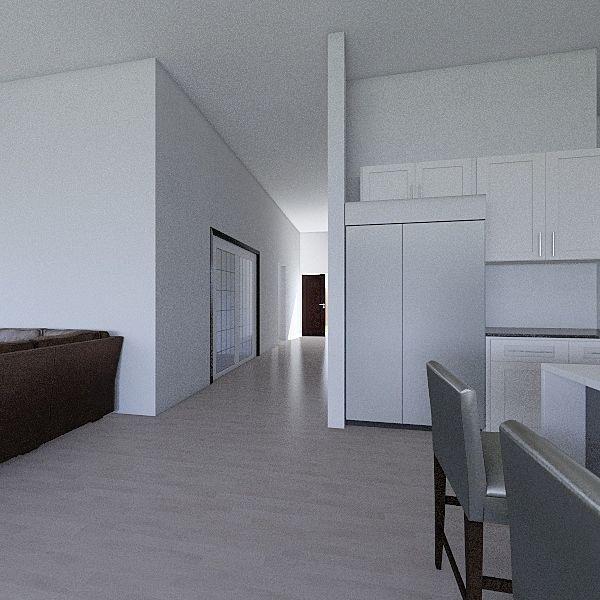 First Floor - Parkside Estates Huntington Beach Interior Design Render
