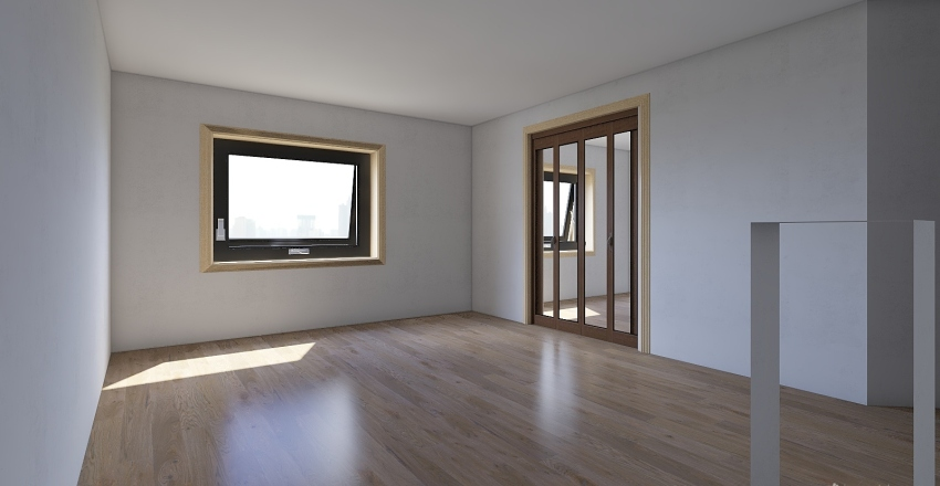первая квартира Interior Design Render