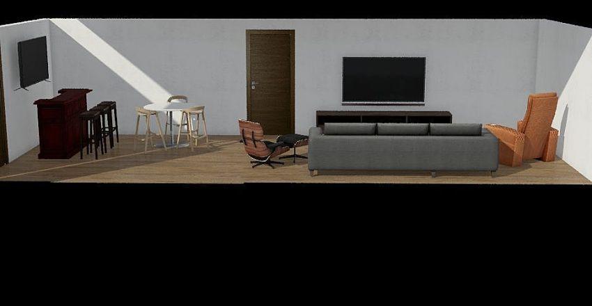 Entertainment Interior Design Render