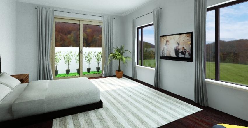 House 1 - First Floor Interior Design Render