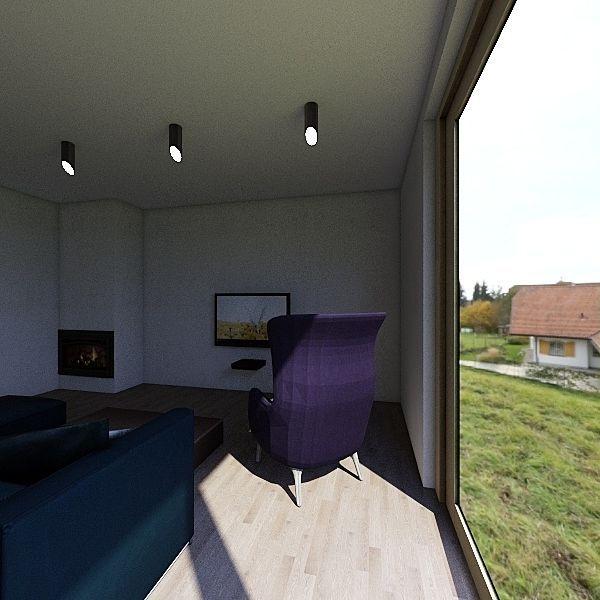 Dom Calosc Interior Design Render