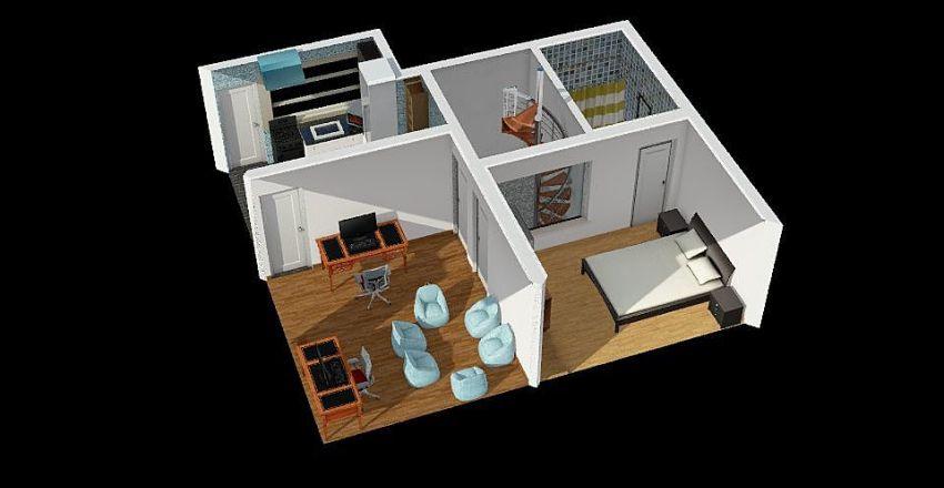 Dpto.02 Interior Design Render