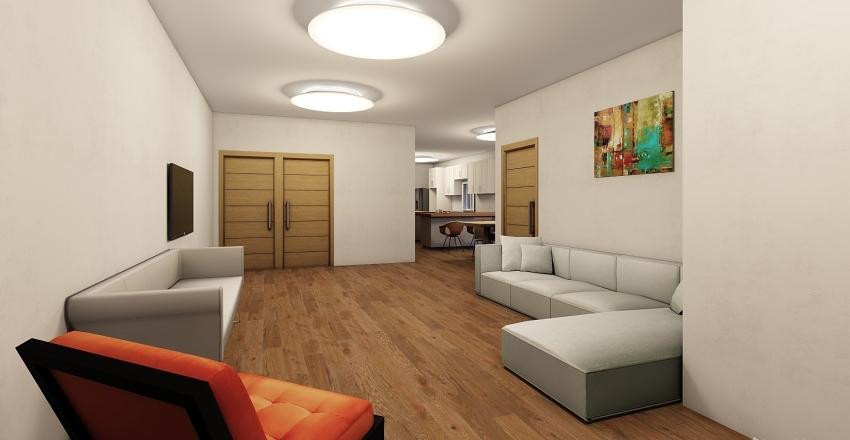 Apartamento modelo 1 Interior Design Render